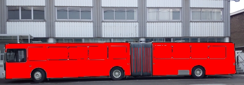 Full side wrap bus extension plus