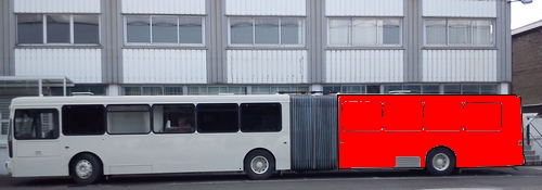 Half wrap side bus (or full wrap for short model)