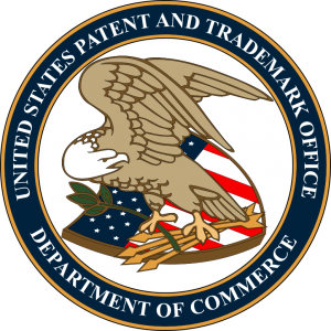 Patent trademark logo example
