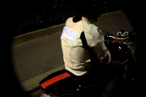 Electroluminescent Biker Suit